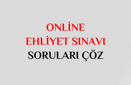 Online Ehliyet Sınavı