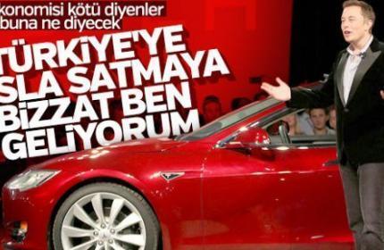 Elon Musk açıkladı: Tesla Türkiye pazarına giriyor