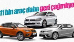 Volkswagen'den bir geri çağırma daha