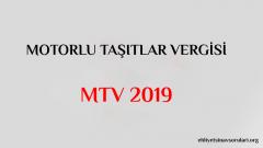 Motorlu Taşıtlar Vergisi MTV