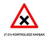 t27 - Trafik İşaretleri - Tehlike Uyarı İşaretleri