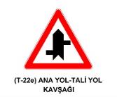 t32 - Trafik İşaretleri - Tehlike Uyarı İşaretleri