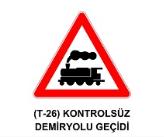 t38 - Trafik İşaretleri - Tehlike Uyarı İşaretleri