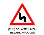 t4 - Trafik İşaretleri - Tehlike Uyarı İşaretleri