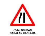 t9 - Trafik İşaretleri - Tehlike Uyarı İşaretleri